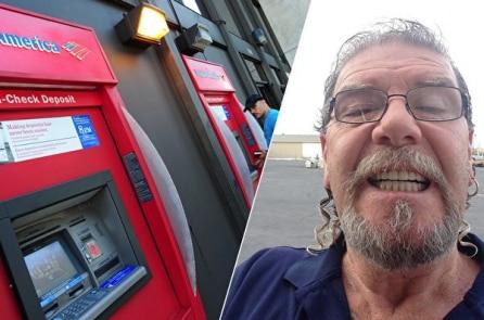 Người đàn ông hành động bất ngờ sau khi nhặt được 500 đô la ở máy ATM