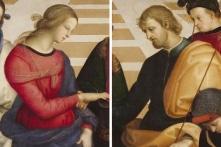 """Bức """"Hôn lễ của Đức mẹ đồng trinh"""" của Raphael"""