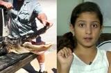 Cô bé 10 tuổi thông minh thoát khỏi nanh vuốt cá sấu
