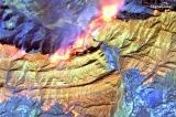 Ảnh chụp vệ tinh cho thấy sức tàn phá của thảm họa cháy rừng ở miền Nam California