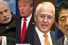 Mỹ-Nhật-Ấn-Úc đang lên phương án đối phó với Trung Quốc