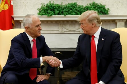 Tổng thống Trump và Thủ tướng Úc tìm kiếm nền tảng chung về thương mại và Trung Quốc
