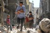 noi chien Syria