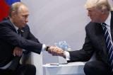 Tổng thống Trump chúc mừng ông Putin thắng cử