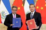 El Salvador bỏ Đài Loan, thiết lập quan hệ ngoại giao với Trung Quốc