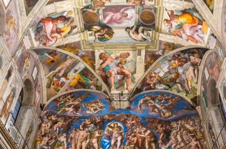 Vì sao nói mái vòm nhà nguyện Sistine là kiệt tác Mỹ thuật thế giới?
