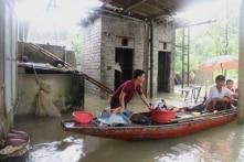 Thanh Hoá: Ngập lụt nhiều nơi, hàng trăm hộ dân phải sơ tán