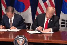Mỹ, Hàn Quốc ký Hiệp định thương mại tự do sửa đổi