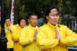 Pháp Luân Công thỉnh nguyện tại LHQ kêu gọi chấm dứt 19 năm bức hại