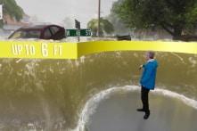 Video: Dự báo thời tiết cho người xem thấy rõ hậu quả của thiên tai