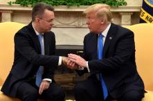 Trump gặp mục sư Brunson tại Nhà Trắng, cảm ơn TNK đã thả người