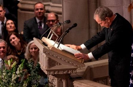 Điếu văn tiễn biệt cha của Tổng thống George W Bush