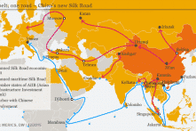 Mỹ đấu tranh với sáng kiến Vành đai và Con đường của Trung Quốc