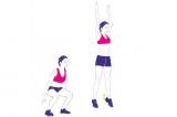 Cơ bắp săn chắc với 6 động tác thể dục tại nhà, giảm mỡ bụng