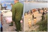 8 học sinh chết đuối thương tâm trên sông Đà