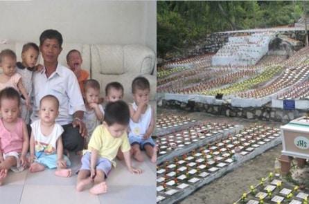 Người đàn ông chôn cất hơn 20.000 thai nhi, cứu sống hơn trăm đứa trẻ