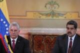 Mỹ chế tài Venezuela chuyển dầu thô cho Cuba
