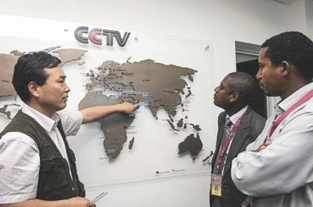 Trung Quốc ngày càng mở rộng ảnh hưởng truyền thông tại Châu Phi