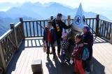 Sau 110 năm, đỉnh núi Fansipan cao thêm 4,3m
