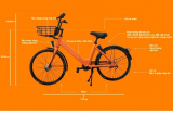 Đà Nẵng muốn triển khai dự án xe đạp công cộng