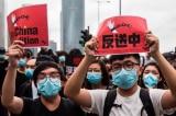 Báo Trung Quốc đổi trắng thay đen, loan tin người Hồng Kông 'biểu tình chống Mỹ'