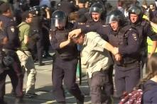 Thủ đô Nga bắt số lượng người biểu tình lớn nhất trong mười năm