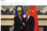 Trung Quốc, Malaysia đồng ý thiết lập cơ chế đối thoại Biển Đông
