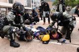 Biểu tình ở Hồng Kông 1/10: Cảnh sát mất kiểm soát, tấn công cả phóng viên