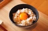 cơm trộn, cơm trộn trứng sống, trứng gà