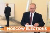 Bầu cử Nga: Đảng thân Putin thua 1/3 ghế tại Moscow, mất đa số tại viễn đông