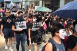 """Người Hồng Kông tiếp tục diễu hành phản đối """"Luật Cấm che mặt"""" ngày 5/10"""