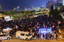 Người Hồng Kông tổ chức Cầu nguyện Cứu viện nhân đạo tối ngày 19/10