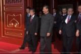 Giang Trạch Dân, Hồ Cẩm Đào thu hút sự chú ý tại lễ duyệt binh 1/10 của ĐCSTQ