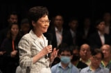 Bà Carrie Lam được mời đến Bắc Kinh dự lễ duyệt binh vào phút chót