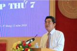 Bí thư Khánh Hòa chưa bị kỷ luật do mắc bệnh hiểm nghèo