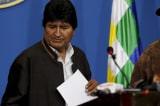 Tổng thống cánh tả Bolivia từ chức do sức ép của biểu tình, quân đội