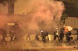 Tình hình Đại học Bách khoa Hồng Kông trong ngày thứ ba bị bao vây