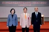 Ba ứng viên Tổng thống Đài Loan từ trái sang bà Thái Anh Văn, ông James Soong và ông Hàn Quốc Du.