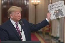TT Trump ăn mừng chiến thắng luận tội