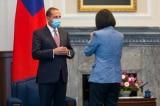 Bộ trưởng Y tế Mỹ có cuộc gặp lịch sử với Tổng thống Đài Loan